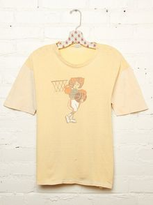 Free People Vintage Basketball Tee - Lyst