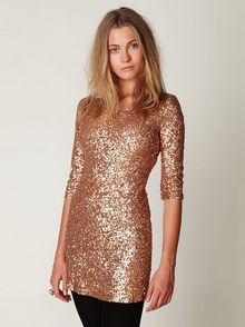 Free People Sequin Sway Dress - Lyst