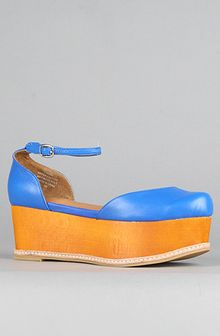 Jeffrey Campbell The Sue Bee Shoe in Neon Blue - Lyst
