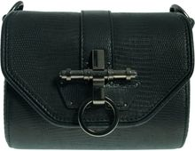Givenchy Lizard Print Leather Obsedia Clutch - Lyst