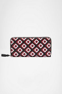 Diane Von Furstenberg Zip Around Wallet - Lyst