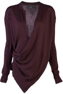 Alexander Wang Draped Wrap Cardigan - Lyst