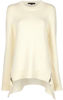 Alexander Wang Zipped Jumper - Lyst