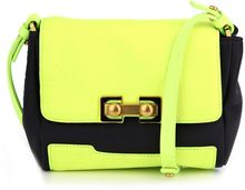 Marc By Marc Jacobs Neon Colour-block Bag - Lyst