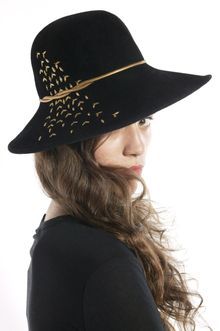 Eugenia Kim Carly Velour Fedora - Lyst
