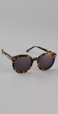Karen Walker Super Duper Strength Sunglasses Crazy Tort - Lyst