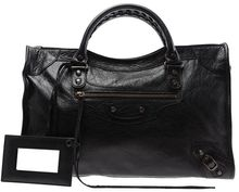 Balenciaga City Leather Handbag - Lyst