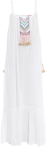 Mara Hoffman Embroidered Dress - Lyst