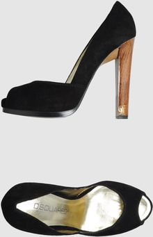 DSquared2 Pumps with Open Toe - Lyst