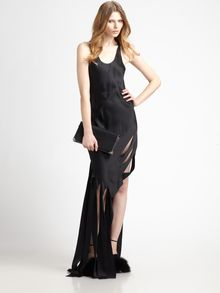 Alexander Wang Streamer Dress - Lyst