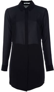 T By Alexander Wang Shirt Dress - Lyst