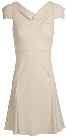 Roland Mouret Losberne Stretch Crepe Dress - Lyst