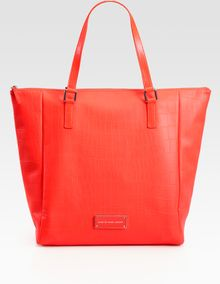 Marc By Marc Jacobs Rubber Croc Take Me Tote Bag - Lyst