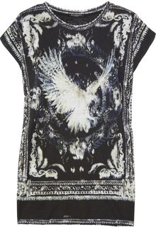 Balmain Printed Cotton T-shirt - Lyst