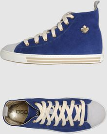 DSquared2 Hightop Sneaker - Lyst