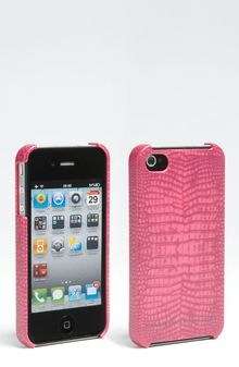 Marc By Marc Jacobs Croc Embossed Iphone Case - Lyst