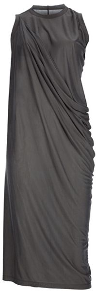 Rick Owens Sleeveless Dress - Lyst