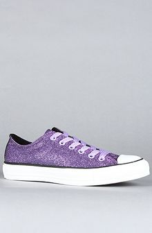 Converse The Modern Sparkle Chuck Taylor All Star Lo Sneaker in Violet Tulip - Lyst