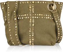 Sara Berman Mini Jivvy Leather Crossbody Bag - Lyst