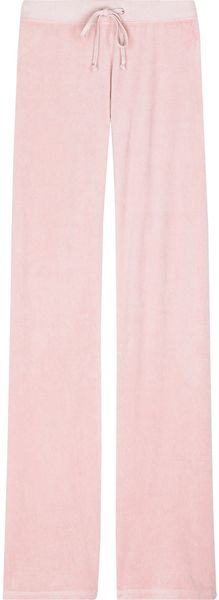 Juicy Couture Velour Track Pants - Lyst
