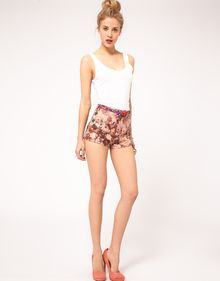 ASOS Collection  Knicker Short in Floral Print - Lyst