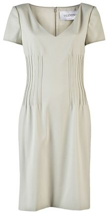 Valentino Short Sleeve Dress - Lyst