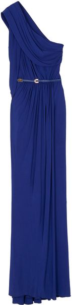 Elie Saab 1 Shoulder Long Dress 35 - Lyst