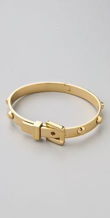 Michael Kors Astor Buckle Bangle - Lyst