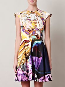 Mary Katrantzou Babelona Baelprint Dress - Lyst