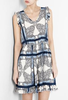 Paul & Joe Sister Karla Sleeveless Patterned Dress - Lyst