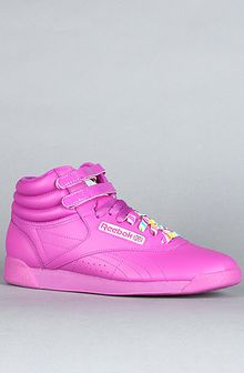 Reebok The Hi Reign Sneaker in Neon Purple - Lyst