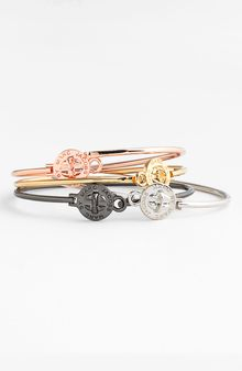 Marc By Marc Jacobs Turnlock Skinny Bangle - Lyst