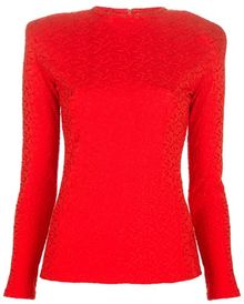 Gianni Versace Vintage Embossed Top - Lyst