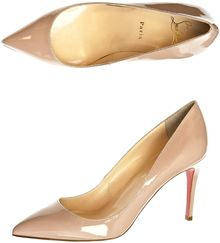 Christian Louboutin Pigalle 85mm Shoes - Lyst