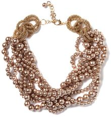Kate Benjamin Multi Beaded Statement Necklace - Lyst