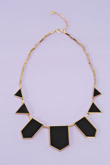 Nasty Gal Station Leather Necklace - Lyst