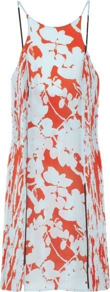 3.1 Phillip Lim Floralprint Silk Crepe Dress - Lyst