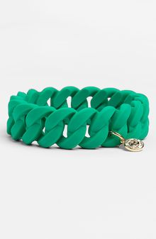 Marc By Marc Jacobs Rubber Turnlock Stretch Bracelet - Lyst