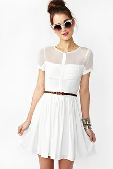 Nasty Gal Light Wave Dress - Lyst