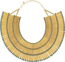 Aurelie Bidermann Mendoza 18karat Goldplated Enameled Necklace - Lyst