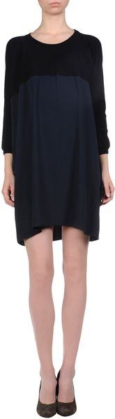 Costume National Short Dress - Lyst