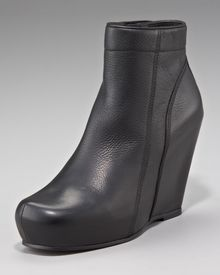 Rick Owens Wedge Ankle Boot - Lyst