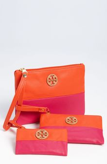Tory Burch Dipped Canvas Pouch - Lyst