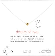 Dogeared Dream Of Love Heart Necklace - Lyst