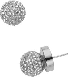 Michael Kors Pave Stud Earrings - Lyst