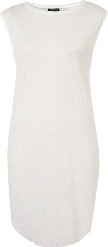 Topshop Burnout Split Side Tunic - Lyst