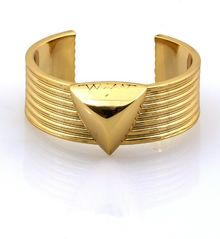 House Of Harlow Faceted Pyramid Cuff - Lyst
