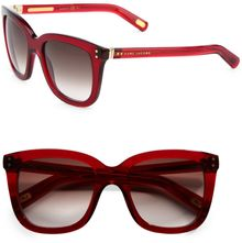 Marc Jacobs Plastic Square Sunglasses - Lyst