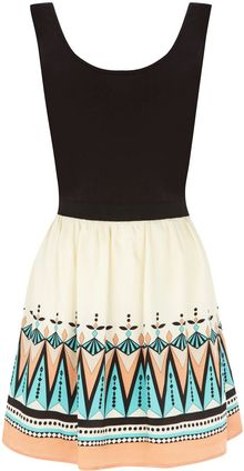 Oasis Deco Tribal 2 in 1 Dress - Lyst