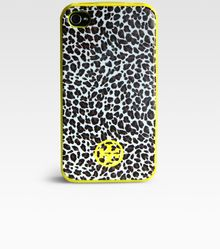 Tory Burch Animal Print Soft Case For Iphone - Lyst